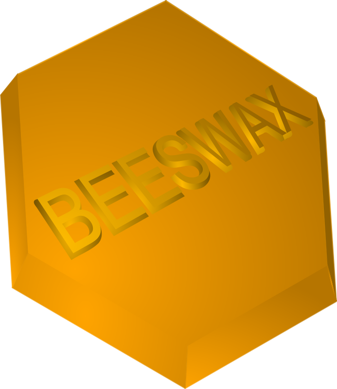 Free Clipart: Beeswax Block.