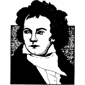 Ludwig von Beethoven clipart, cliparts of Ludwig von Beethoven.