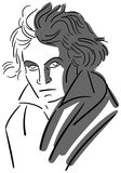 Beethoven Stock Illustrations.