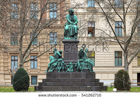 Beethoven Statue Stock Photos, Royalty.