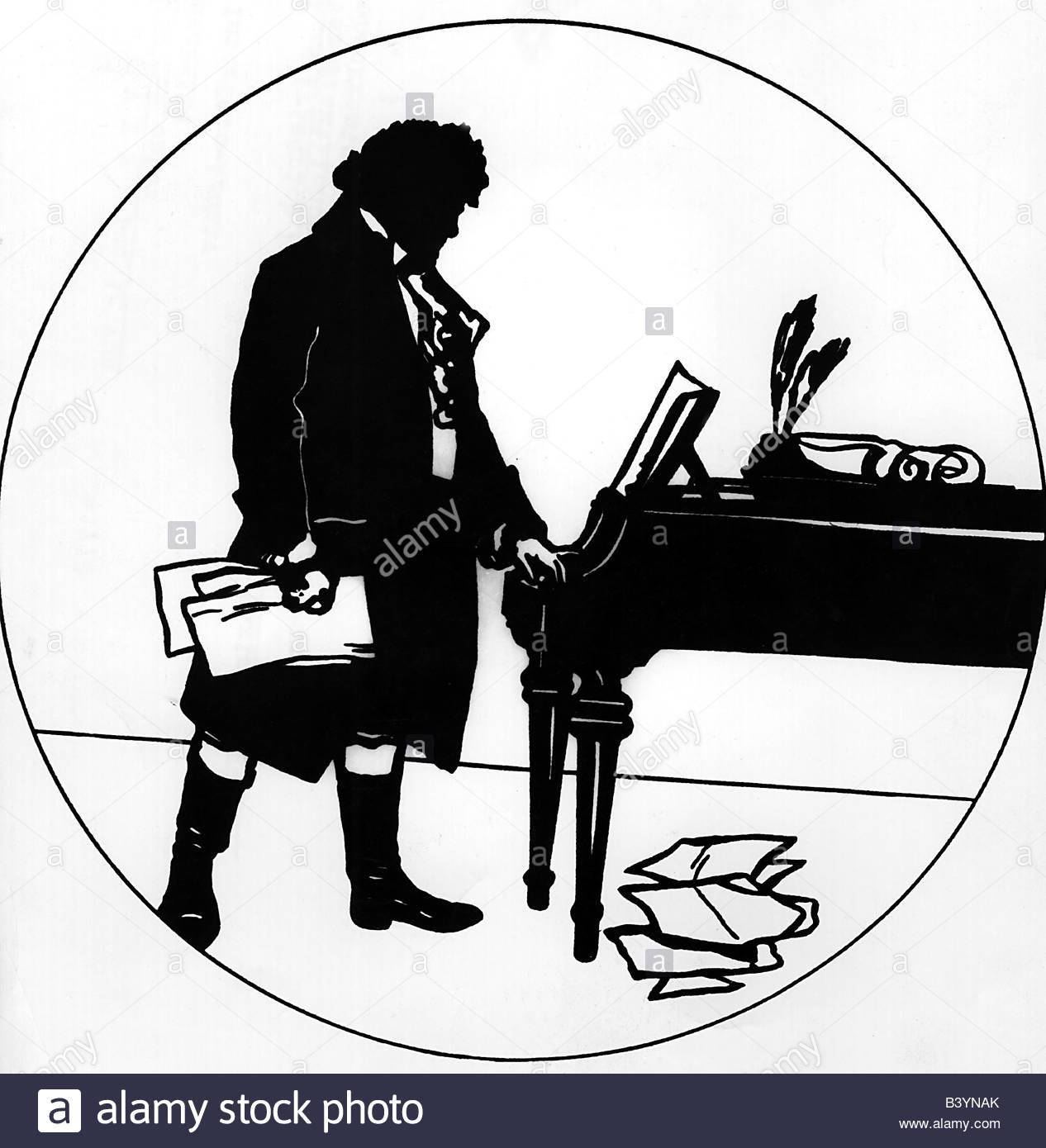 Ludwig Van Beethoven Piano Stock Photos & Ludwig Van Beethoven.