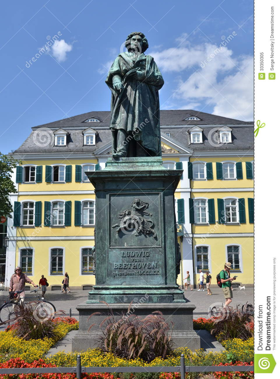 Ludwig Van Beethoven Editorial Image.