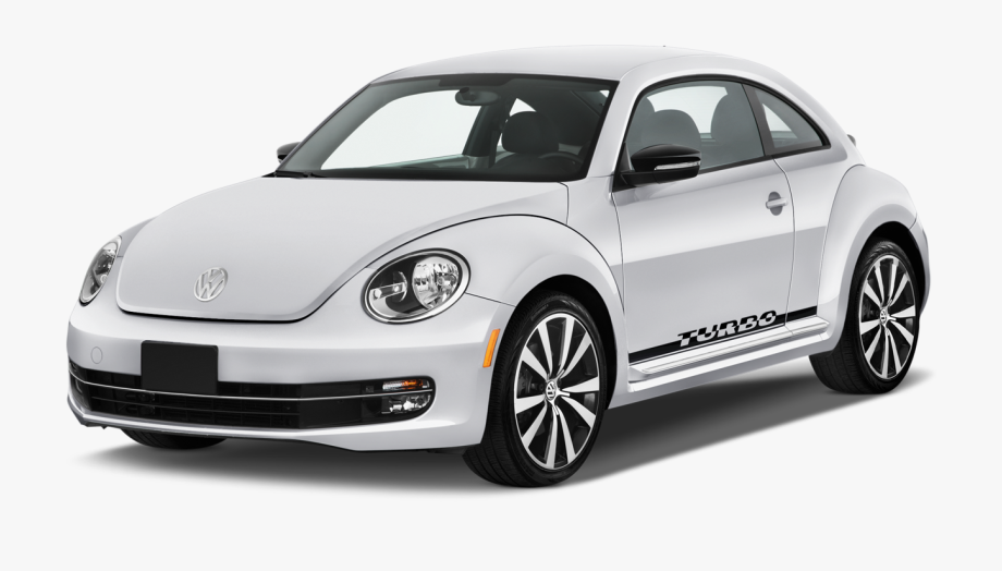 White Volkswagen Beetle Png Car Image.