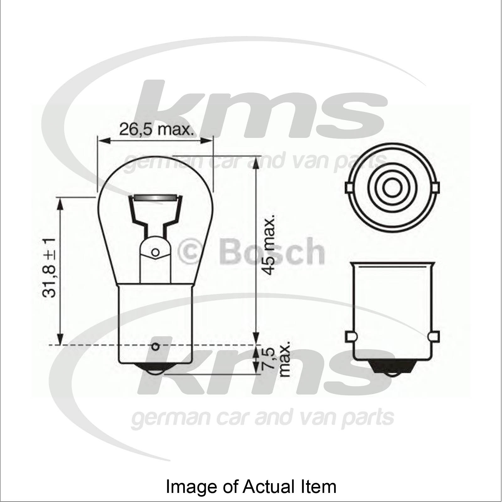 Bulb For rear fog light VW NEW BEETLE Convertible (1Y7) 1.9 TDI.