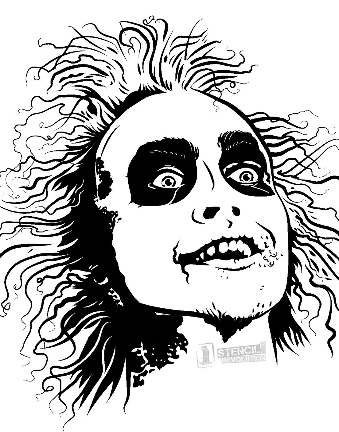 Beetlejuice clipart 5 » Clipart Station.