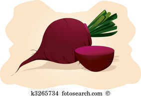 Beetroot clipart #7