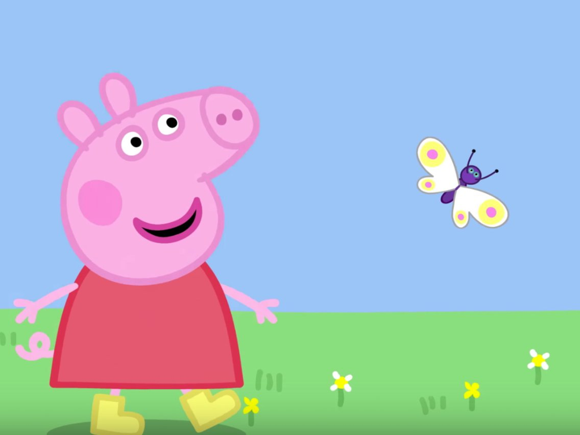 How tall is Peppa Pig? According to the internet, over 7.