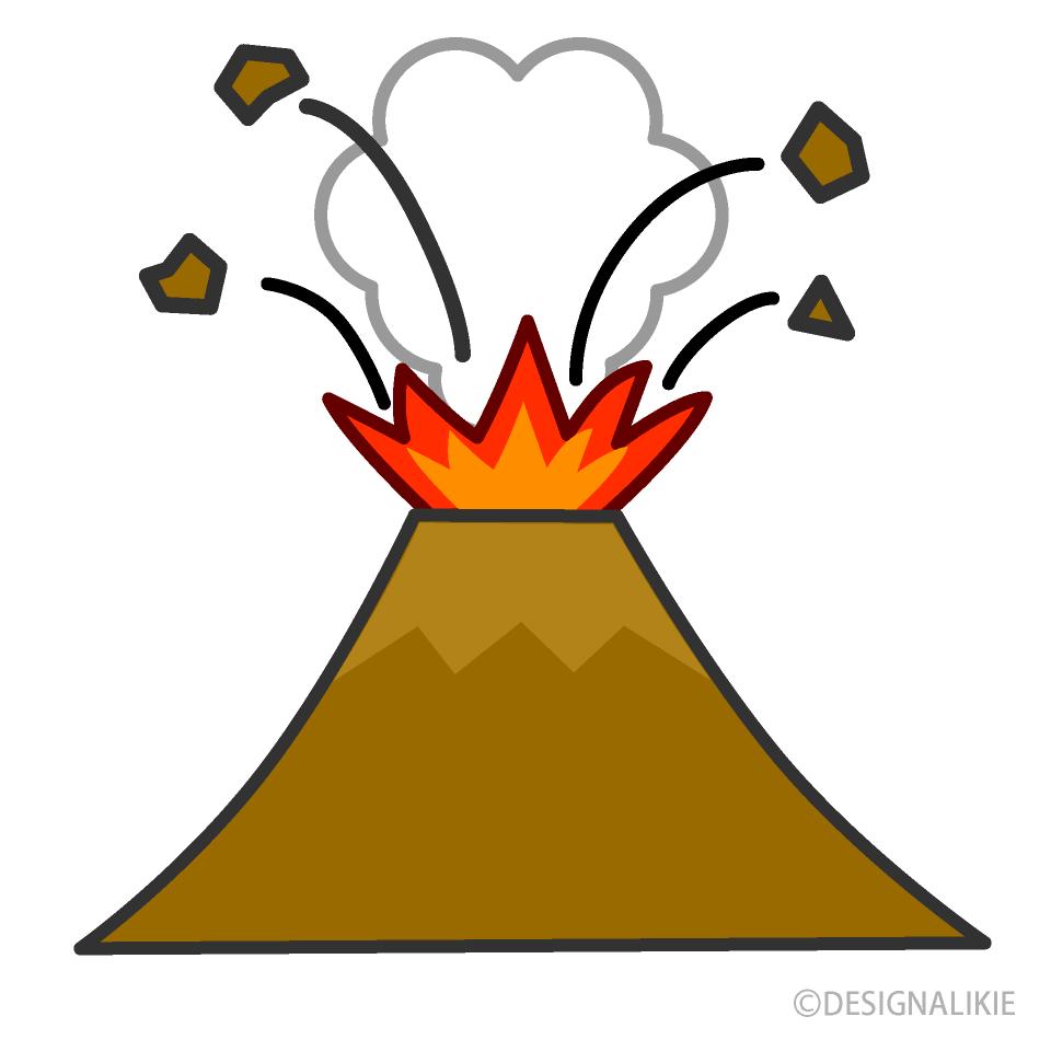 Free Volcano Clipart Image Illustoon.