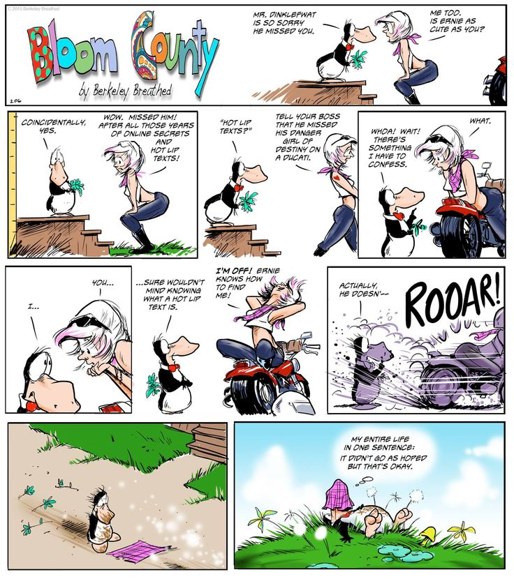 1000+ images about Love me some Bloom County on Pinterest.
