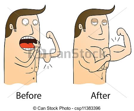 Before And After Clipart.