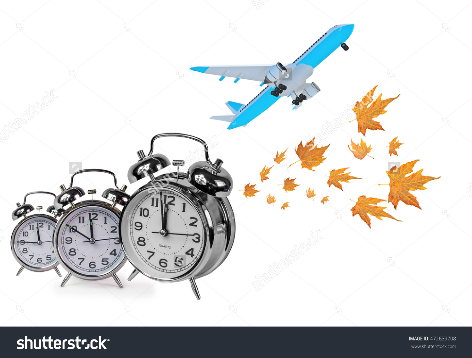 Autumn, Time For Travel, Airplane Clocks, Time Just Before.