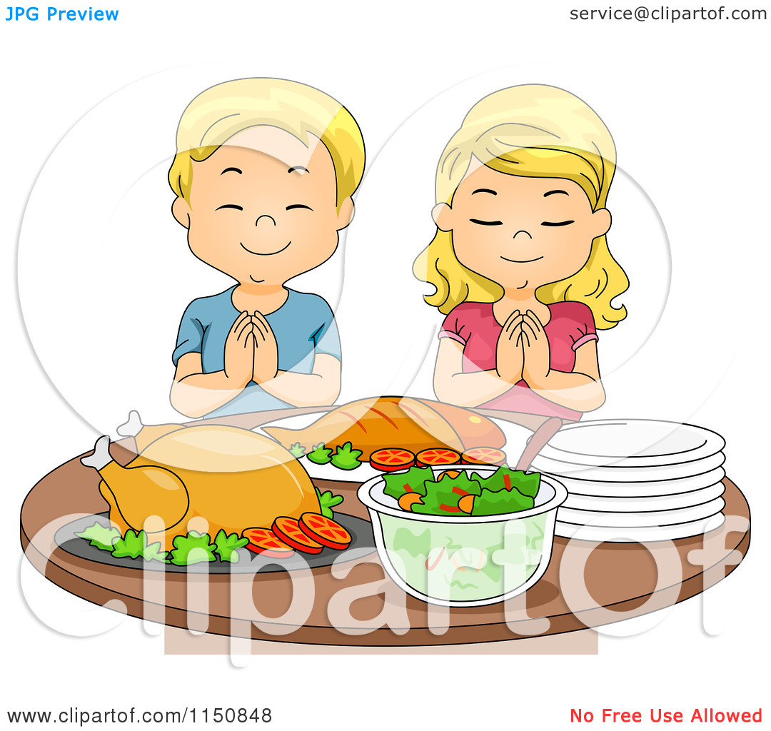 Pray for food clipart.
