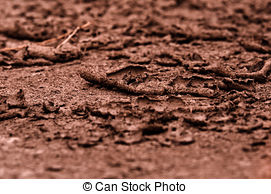Stock Photos of Dry soil closeup before rain csp8499003.