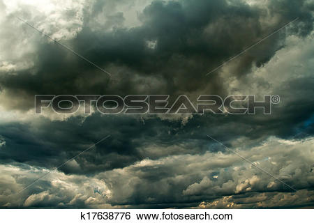 Stock Images of Storm clouds before rain k17638776.