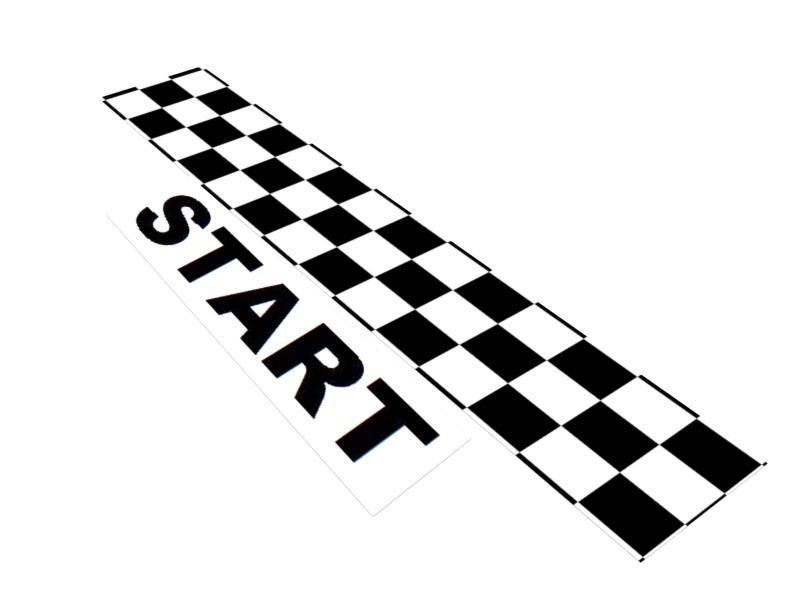 Race Start Sign Clipart.