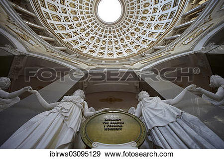 "Stock Photograph of ""Interior, Kelheim Befreiungshalle or Hall of."