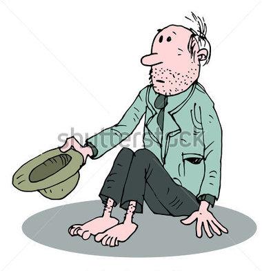 Beggar clipart free.