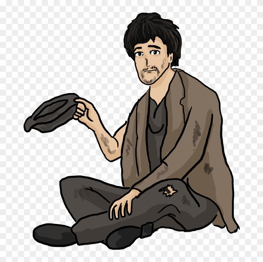 Free Beggar Clipart.