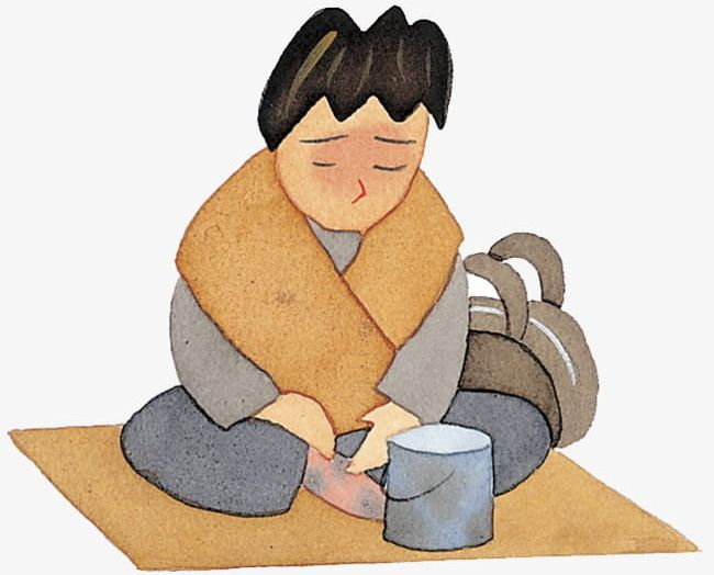 Poor Beggar With Illustrations PNG, Clipart, Beggar, Beggar Clipart.