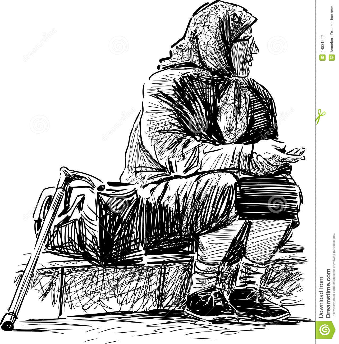 Old Beggar Woman Stock Photos, Images, & Pictures.