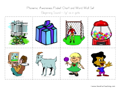 Word Wall Beginning Sound Letter G Have Fun Teaching #p2IlpO.