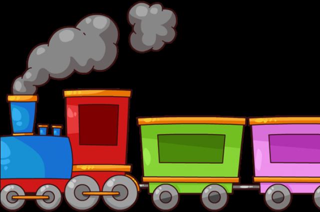 Train Clipart Transparent Background.