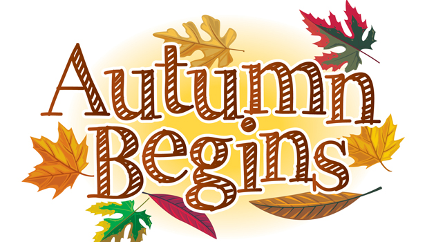 First day of fall 2016 clipart.