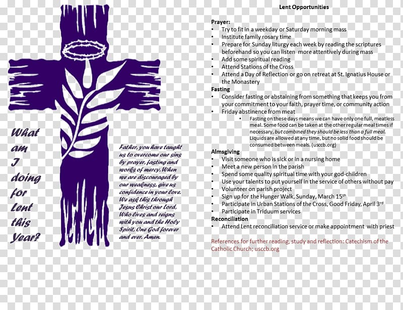Lenten calendar Stations of the Cross , lent transparent.