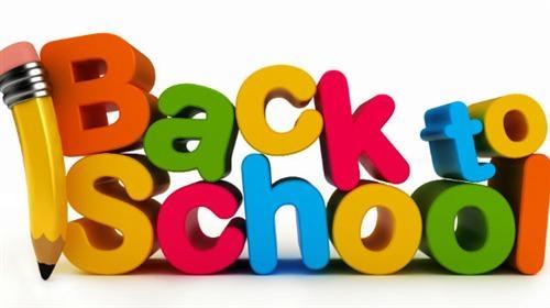 Back to school september clipart.