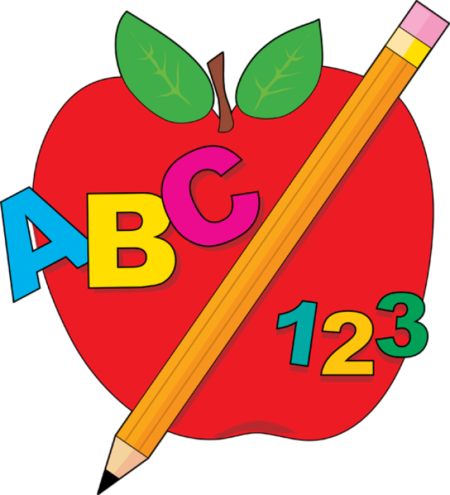 Beginning of school clipart #14