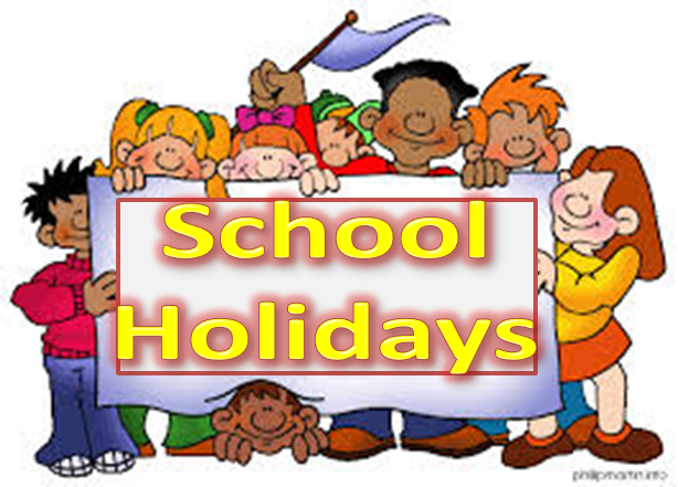 School Holiday Clipart.