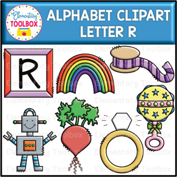 Letter R Alphabet Clipart (Beginning Sounds).