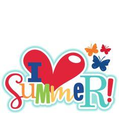 Summer begins clipart.