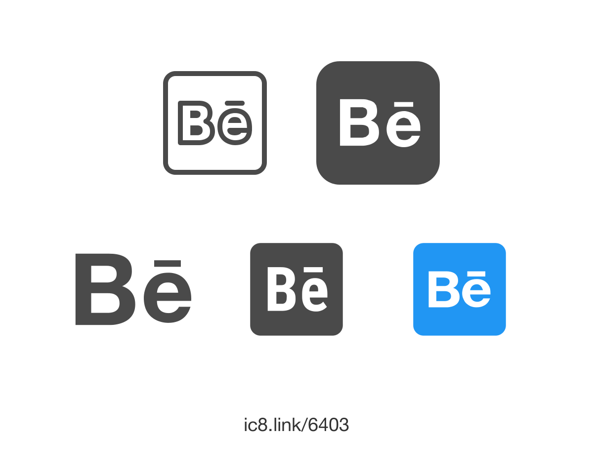 Logo Behance PNG Transparent Logo Behance.PNG Images..