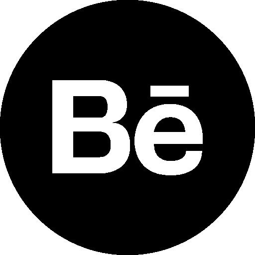 Behance logo button Icons.
