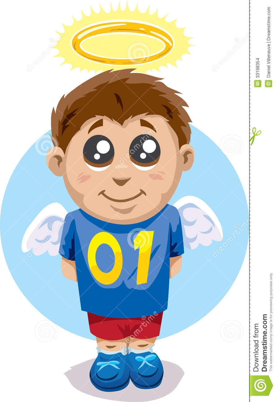 Well Behaved Kid Clipart.