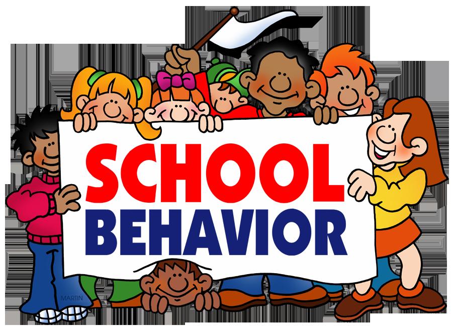 School Clip Art by Phillip Martin, School Behavior.