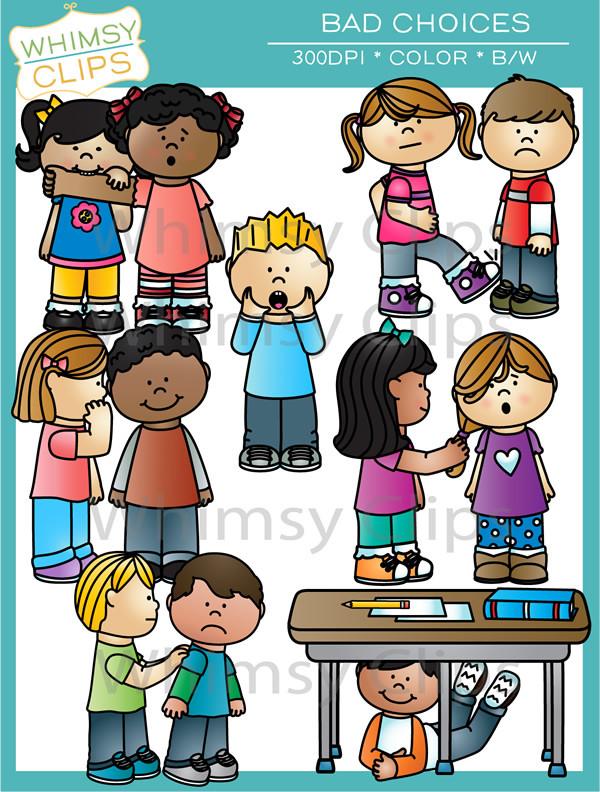 School behavior clipart.