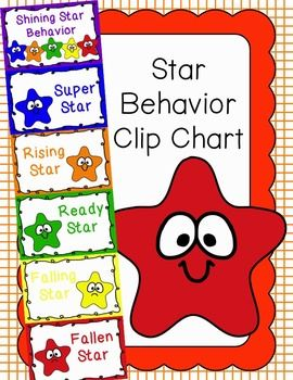 Behavior Clip Chart Behavior Management STARS 2.
