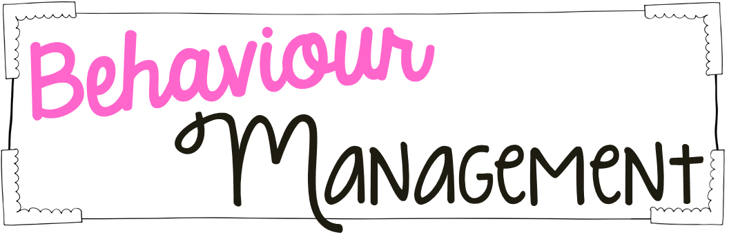 Behaviour management clipart.