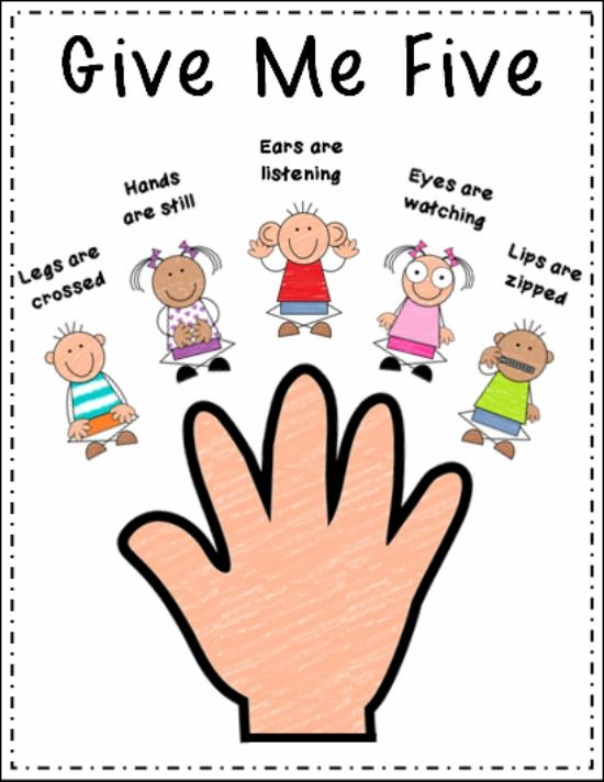Behavior Clip Art For Kids.