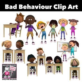 Behaviour Clip Art & Worksheets.