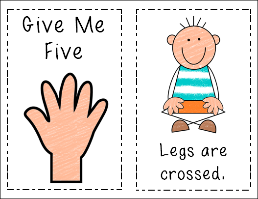 Give Me Five Clipart.
