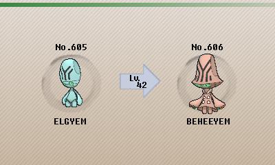 beheeyem evolution.