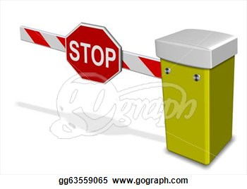 Barrier 20clipart.