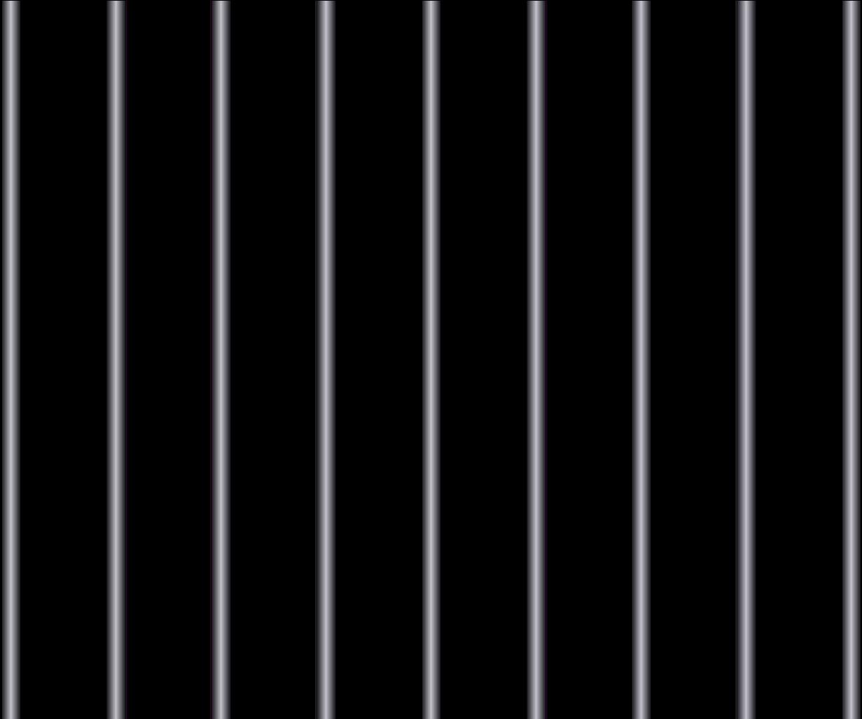 HD Behind Bars Transparent PNG Image Download.