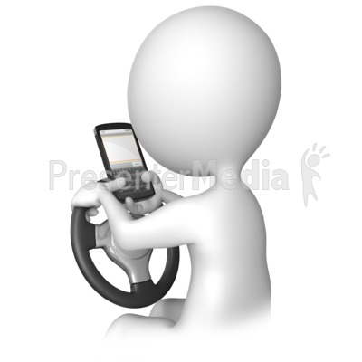 Texting Behind The Wheel.