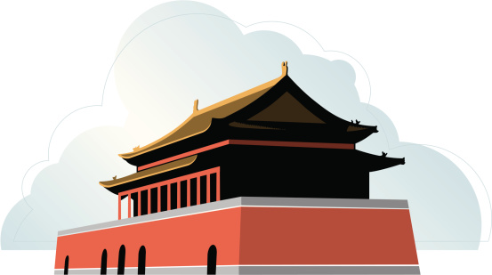 Forbidden City Clip Art, Vector Images & Illustrations.