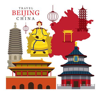 Forbidden city clipart.