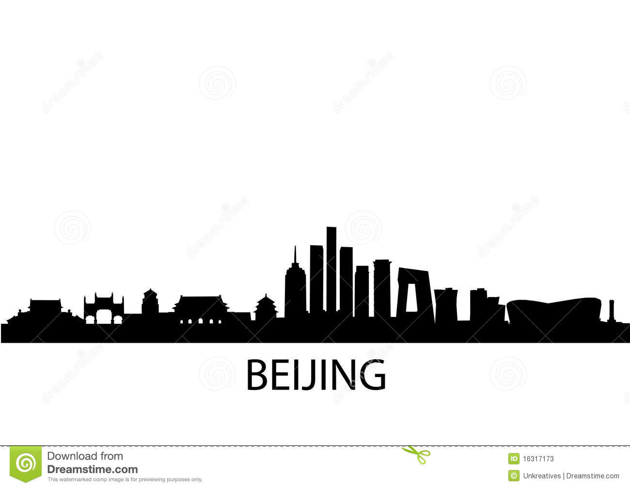 Beijing Stock Illustrations.